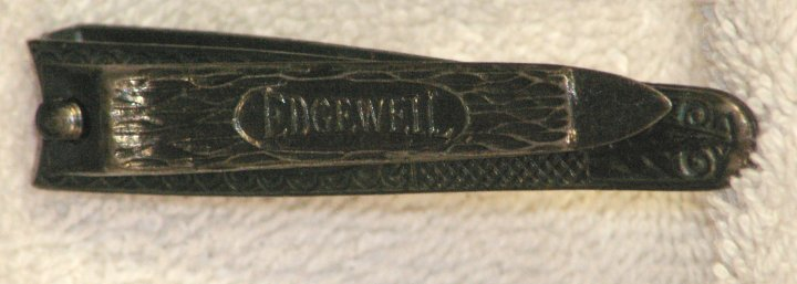 Edgewell Nail Clippers from late 1920s