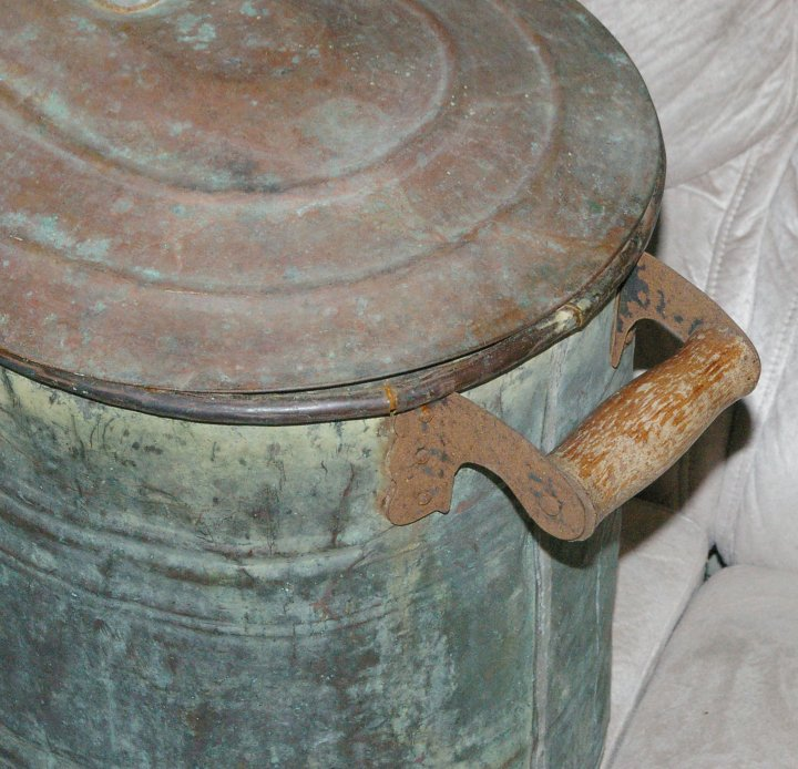Copper Boiler or Canner from about 1900 [Antique2178-CopperBoiler-1900