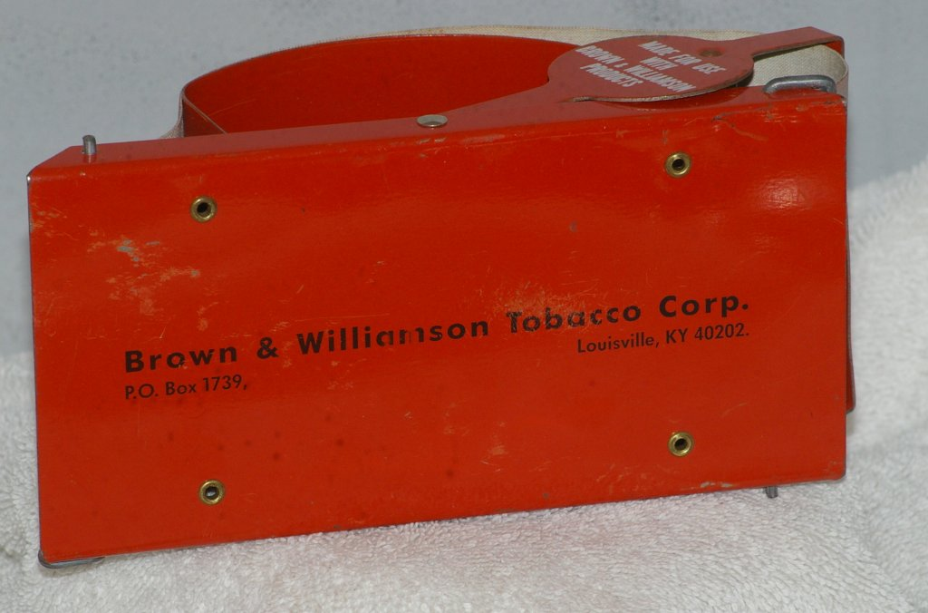 Brown and Williamson Bugler Cigarette Roller from 1960s