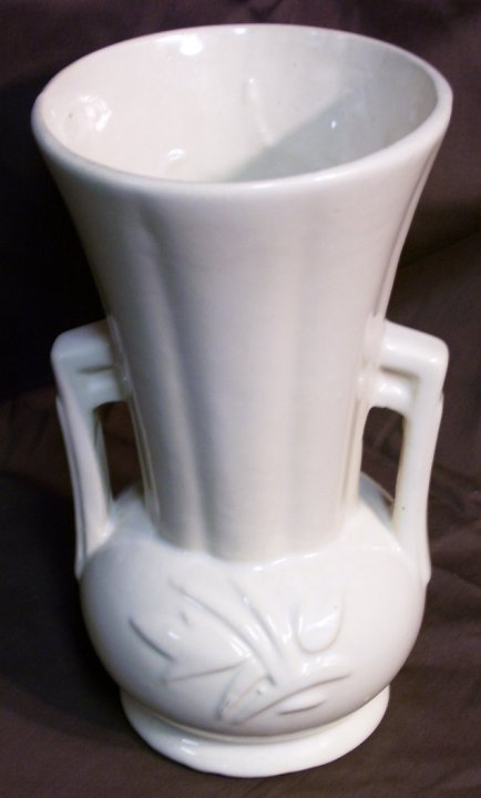 McCoy Two Handled Vase from 1950s