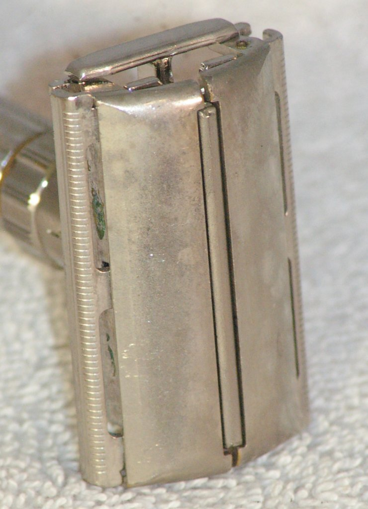 Gillette Fat Boy Adjustable Razor E2 from 1959