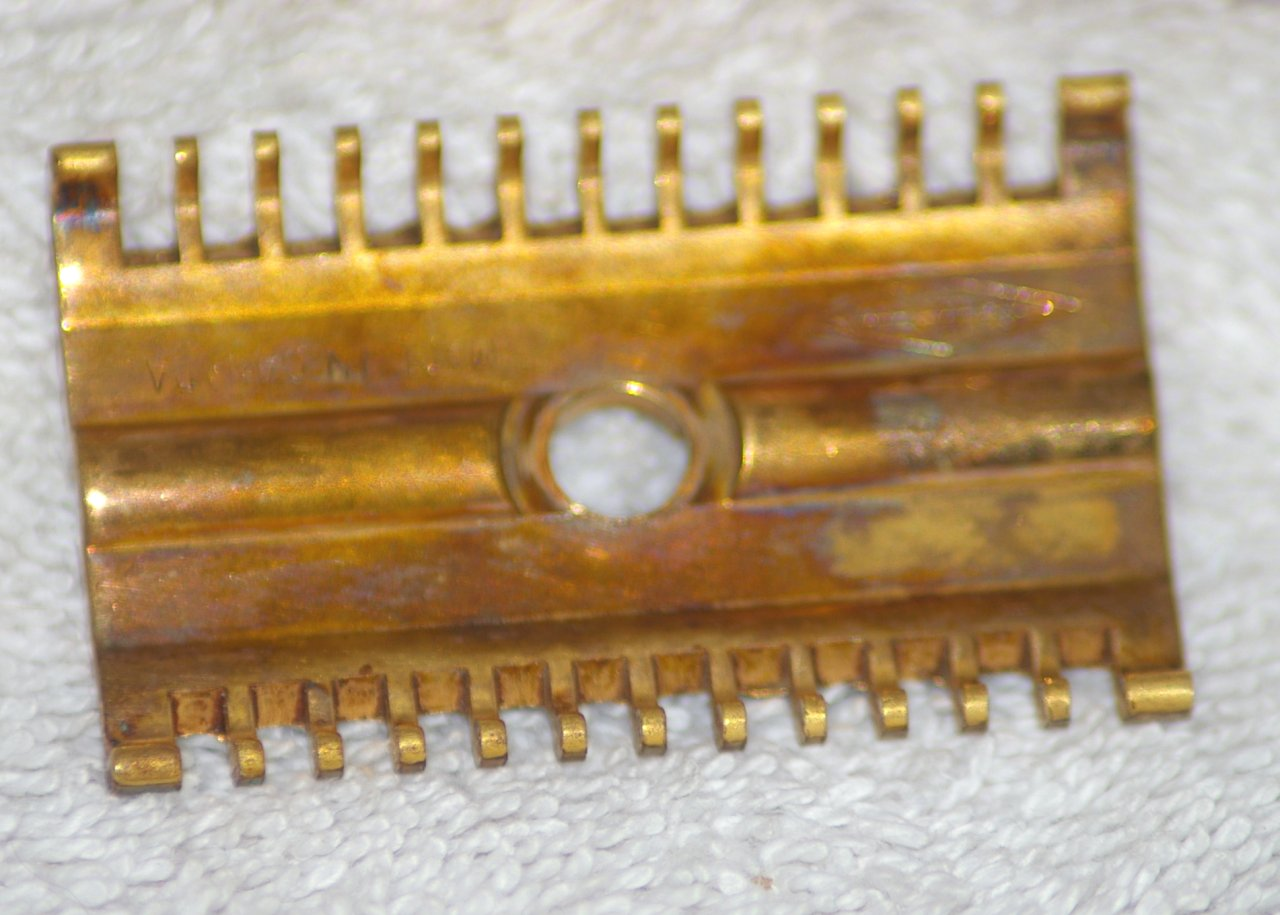 "Gillette, Canadian, Long Comb, ""New"", about 1930"