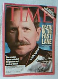 Dale Earnhardt Time Magazine 03/05/2001