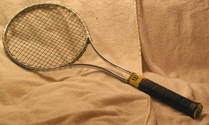 Goods racquets sporting tennis vintage
