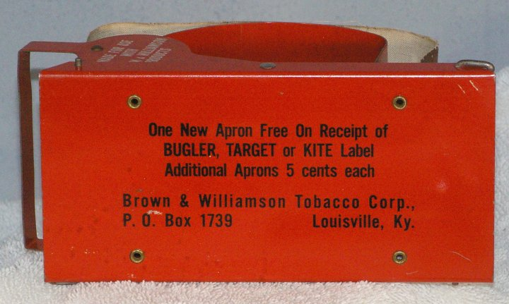 Brown and Williamson Bugler Cigarette Roller from 1950s