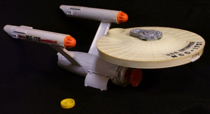 Die Cast USS Enterprise by Dinky Toys of England, 1975