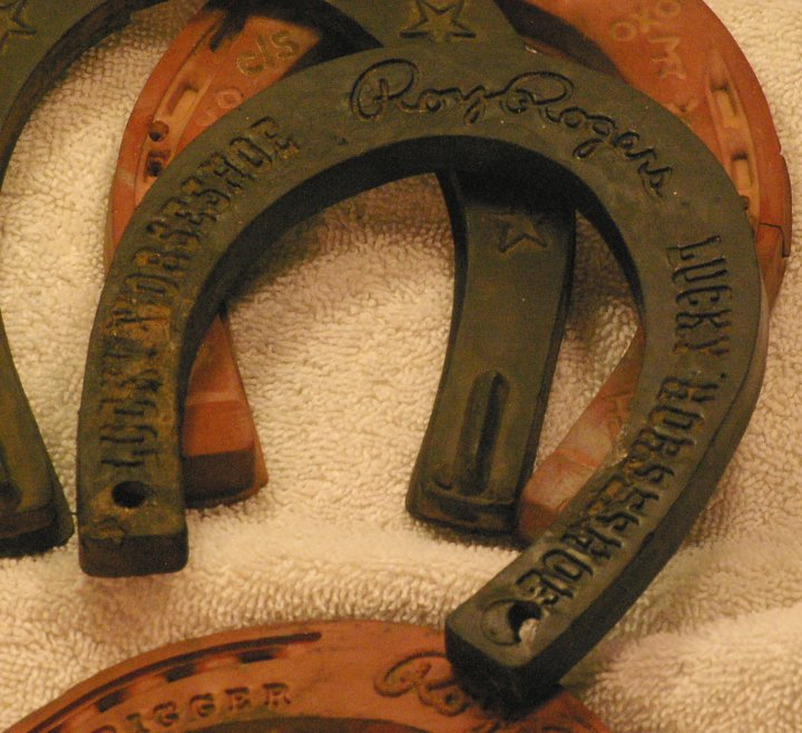 Roy Rogers Lucky Horseshoes from Trigger, 1950s