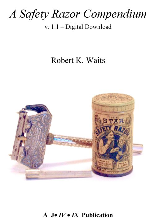 Waits Safety Razor Compendium, Digital Download Edition Ver 1.21