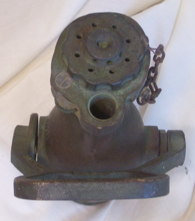 Rockwood Waterfog Fire Hose Nozzle from 1942