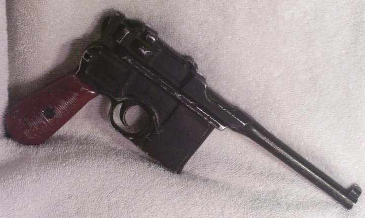 German Mauser C96 Broomhandle Training or Parade Pistol, 1930