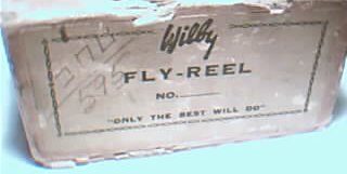 Wilby Fly Fishing Reel, in box, circa 1940