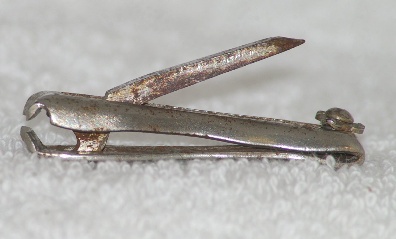 """The GEM"" Nail Clippers, HC Cook, Patented 1896"