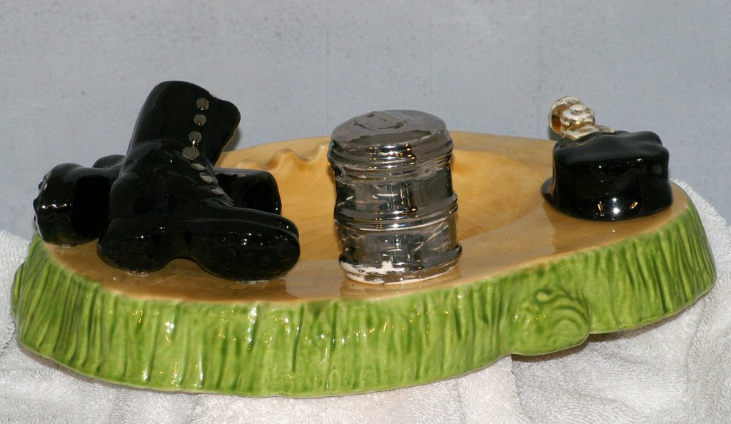 Holland Molds Coal Miner Ashtray from 1950s - Click Image to Close