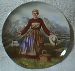 Sound of Music Plate #1 - 1986 - In box with all paperwork