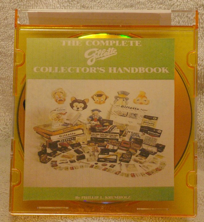 Complete Gillette Collector's Handbook Digital Edition on CD
