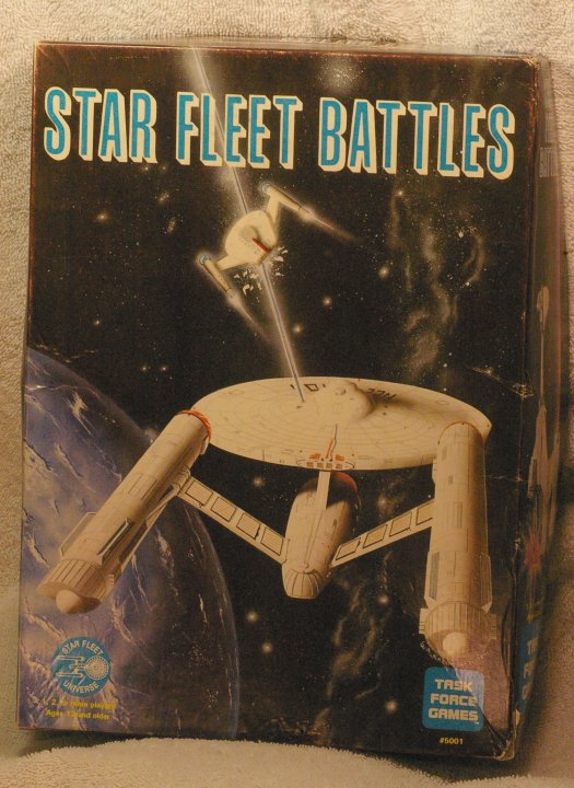 Star Fleet Battles, Star Trek War Game, Task Force Games, 1983
