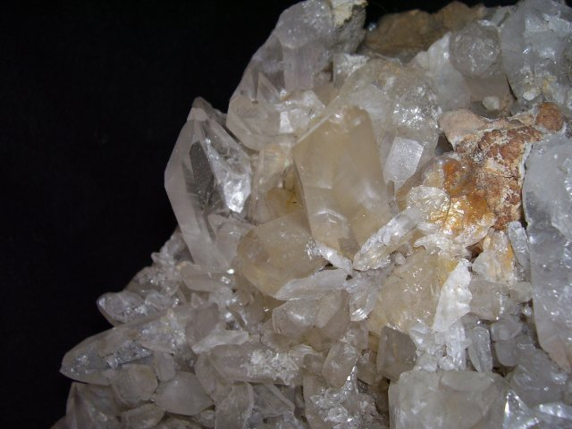 Quartz Cluster, Very Large Crystal