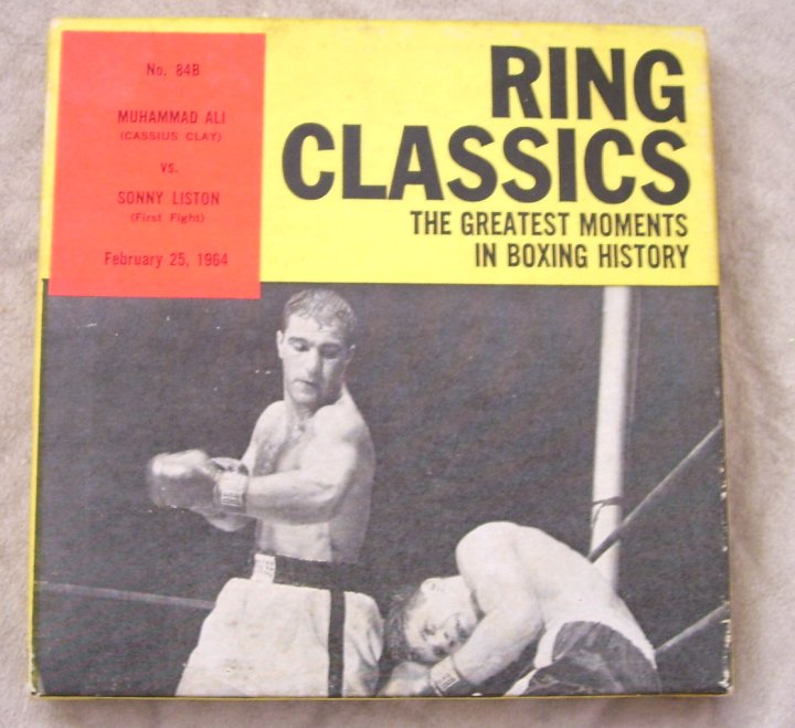 Ring Classics Super 8 Movie, Muhammad Ali vs Sonny Liston, 1964
