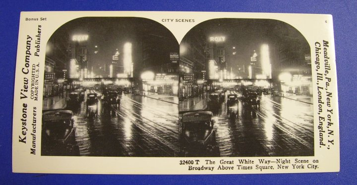 Reprint Stereographs Set of 10 Stereo Views, Bonus Set, 1978