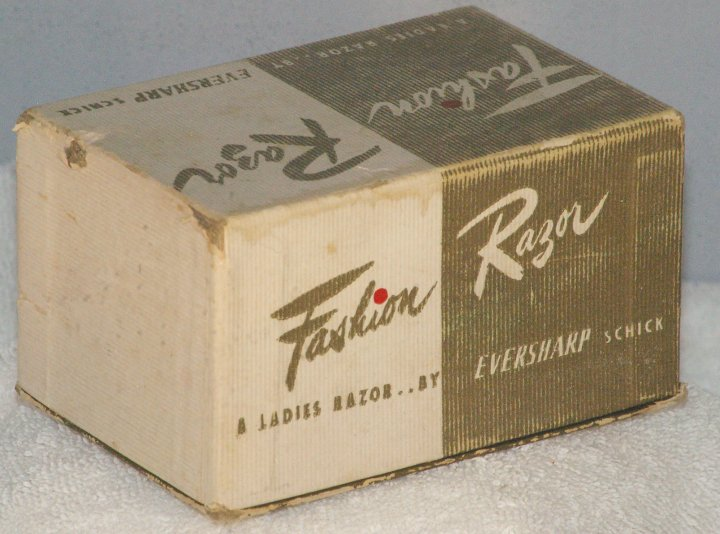 Eversharp Schick Fashion Razor in Box, Type H1, 1947