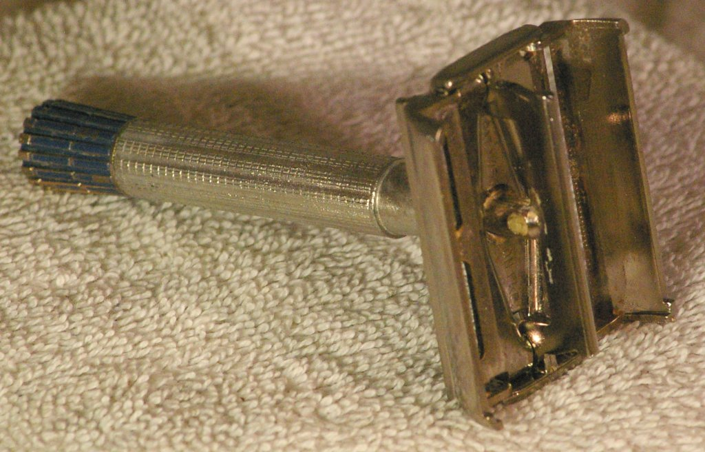 Gillette Blue Tip Super Speed Safety Razor from 1955