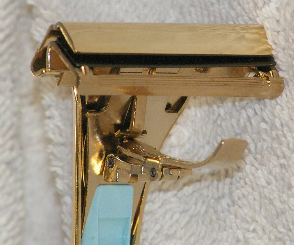 Schick Lady Eversharp Injector Razor, Type K1, with case, 1970