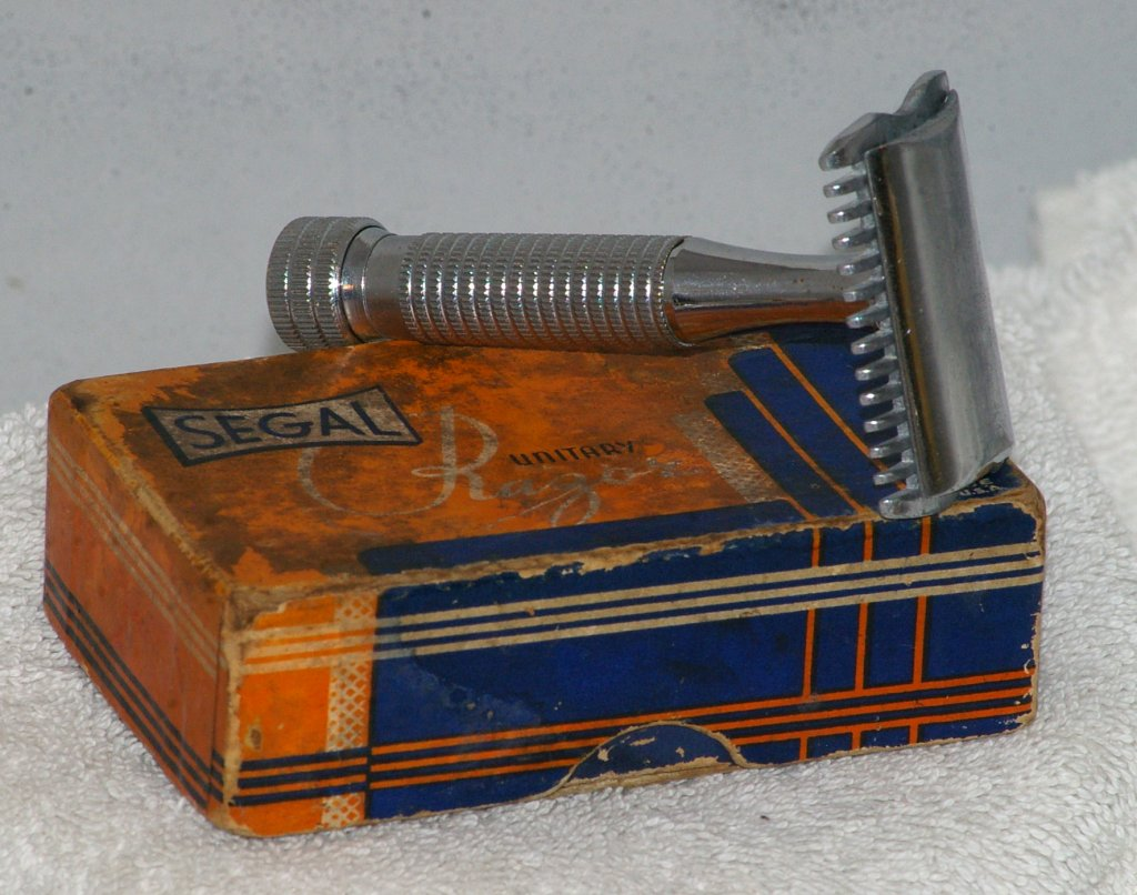 Segal DE Safety Razor from 1930s
