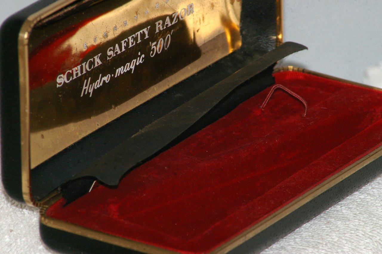 Schick Hydro Magic 500 Injector Razor Type J4 1964