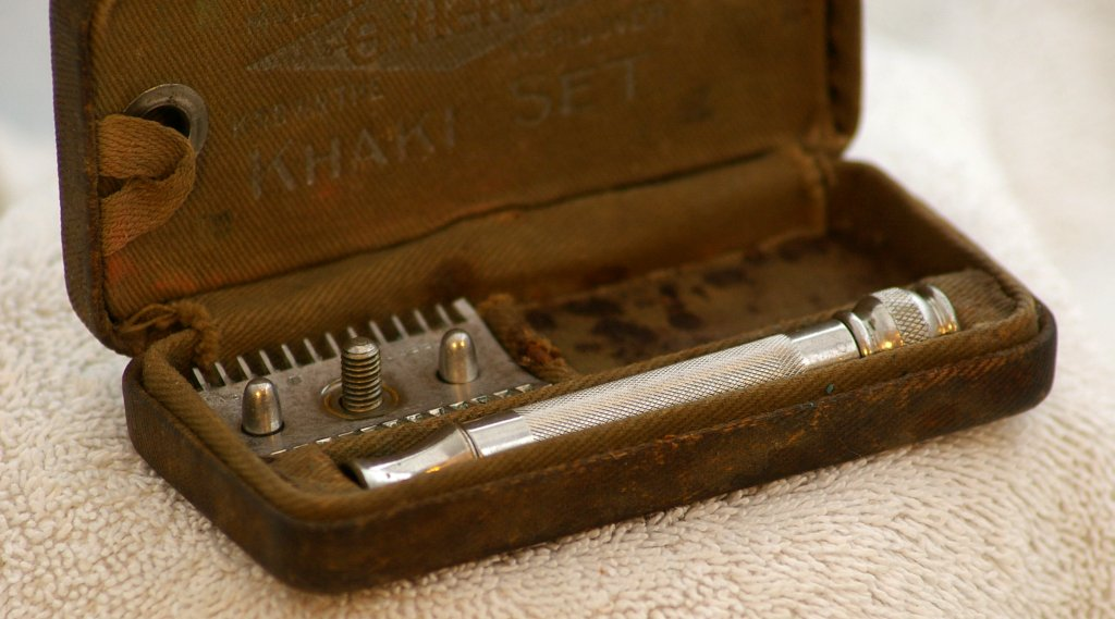 Gillette WWI US Khaki Set from 1918