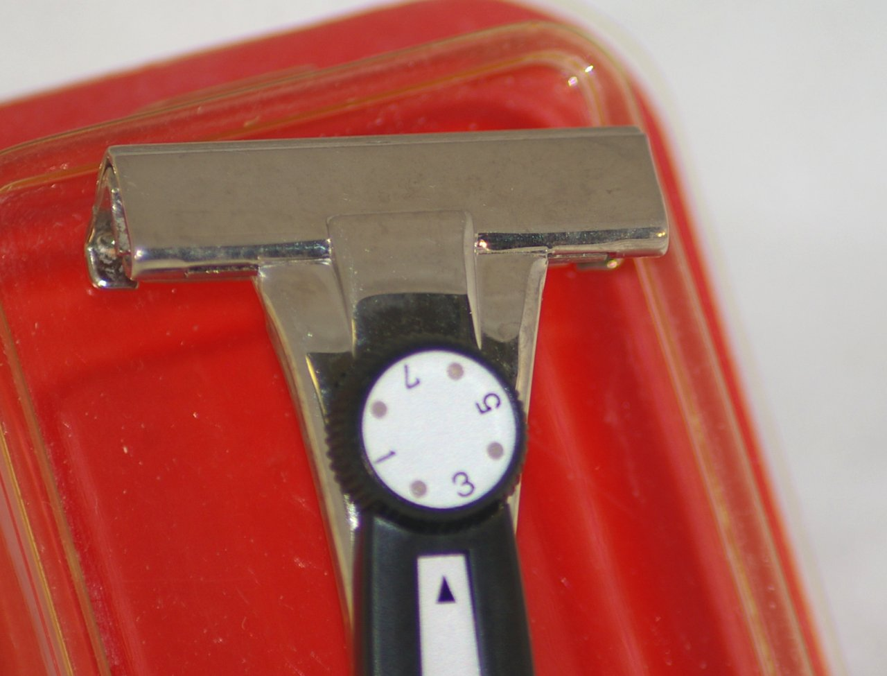 Schick Adjustable Injector Razor M1, about 1966