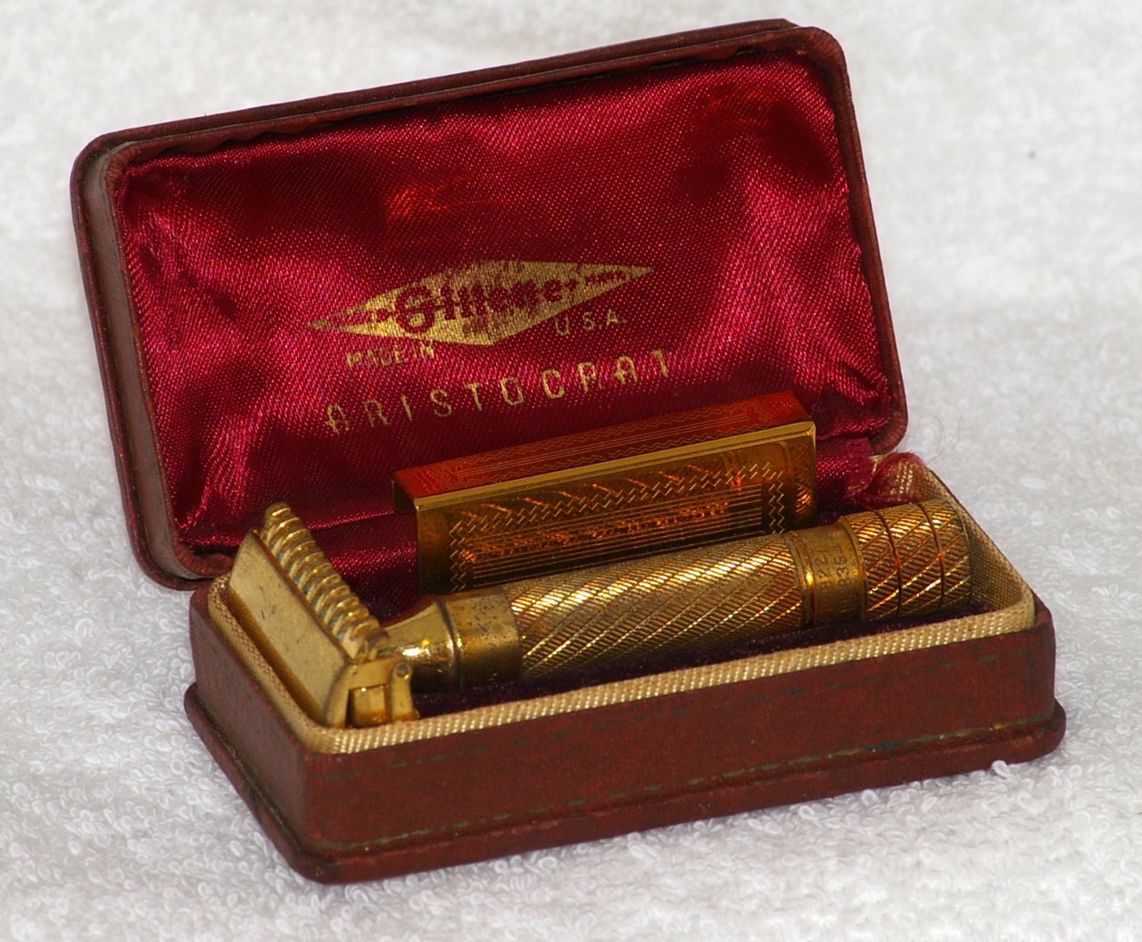Gillette Aristocrat Razor Set from 1934