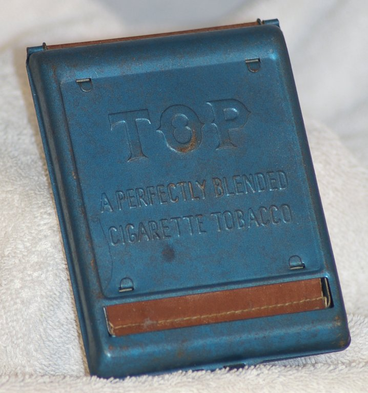 TOP Pocket Metal Cigarette Roller from 1950s