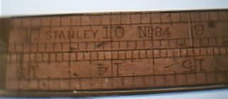 Stanley No 84 Folding Ruler, 1859-1920