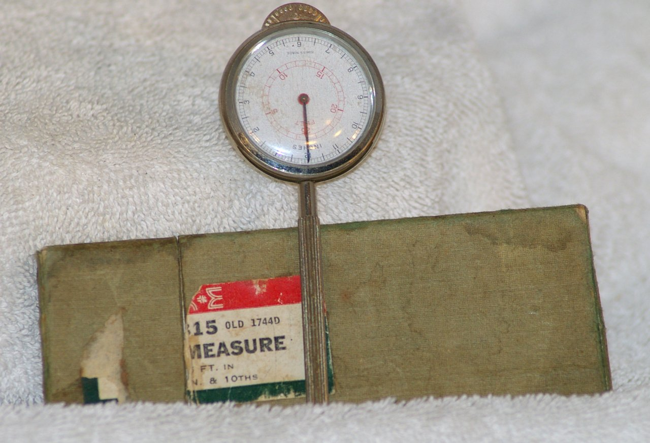 Keuffel & Esser Rolling Ruler from 1950s
