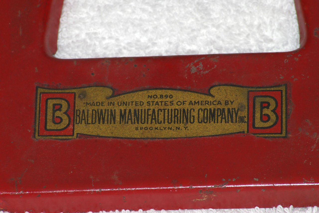 Baldwin Manufacturing No 890 Coastal Artillery Cannon about 1940