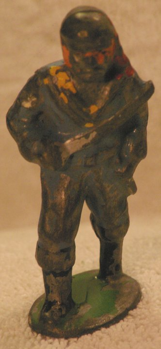 Lead Soldier - Barclay, Pirate, B154 714, from 1935
