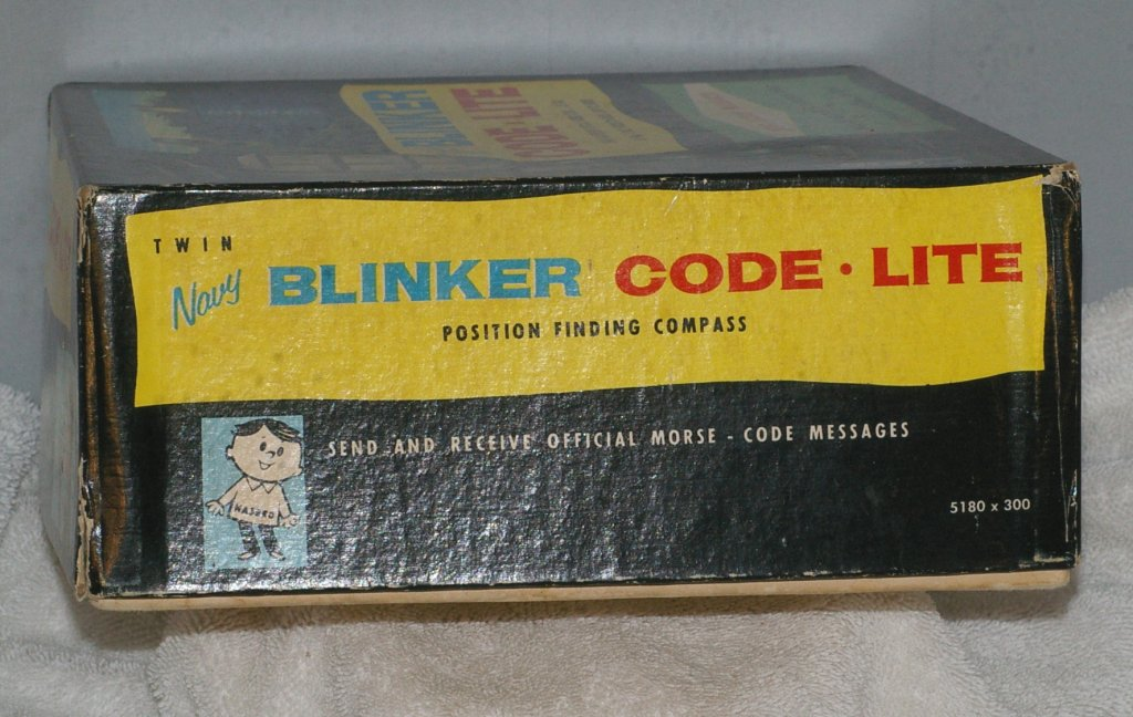 Hasbro Navy Blinker Code-Lite Model 5180 Toy from 1960