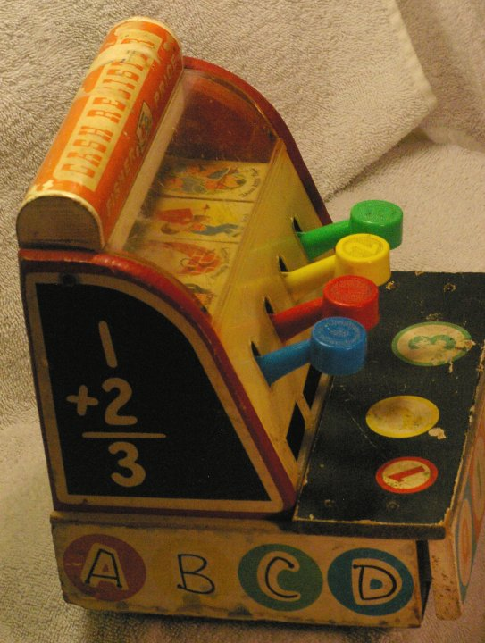 Fisher Price Cash Register #972 from 1960