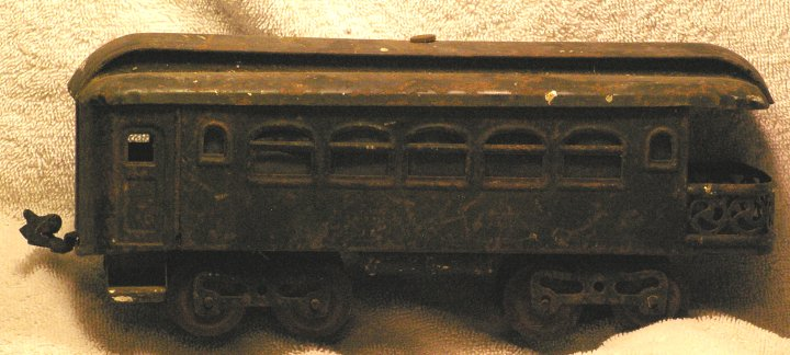 Lionel #36 Standard Gauge Pullman Observation Car from 1920s