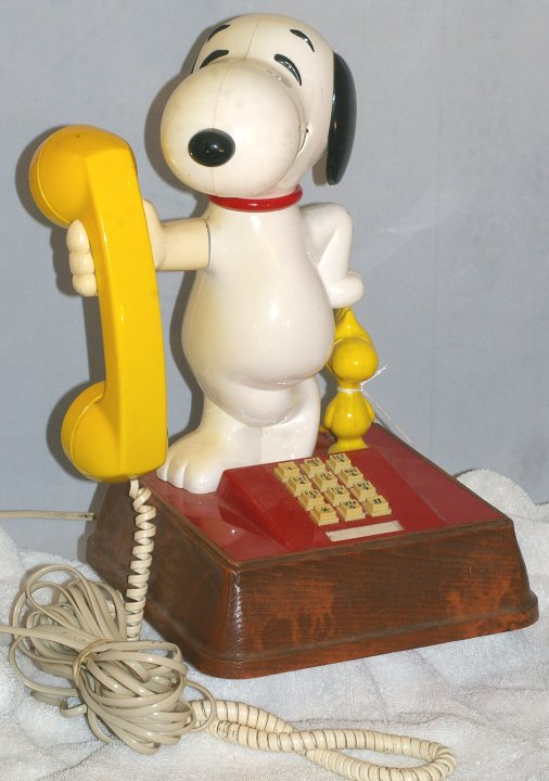 Snoopy and Woodstock Telephone, about 1976
