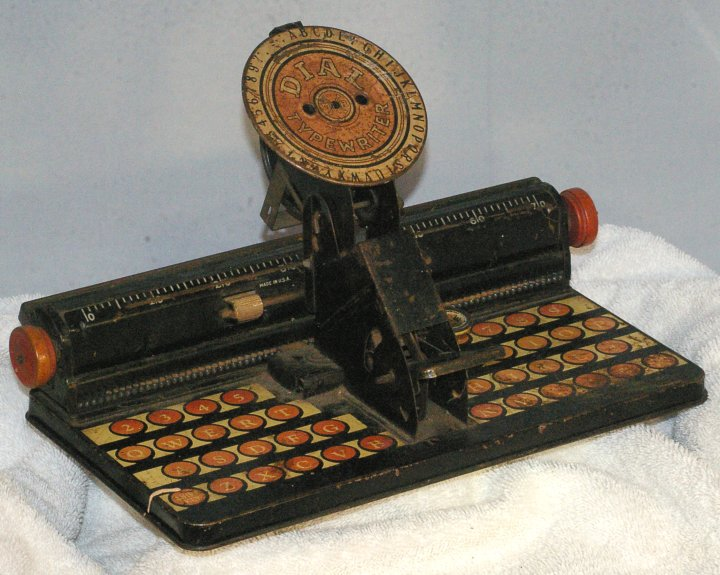 Marx Dial Typewriter from the 1930s